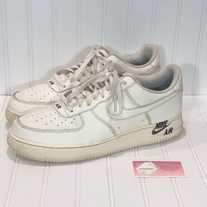 Nike Air Force 1 AF1 Sail Low Leather
